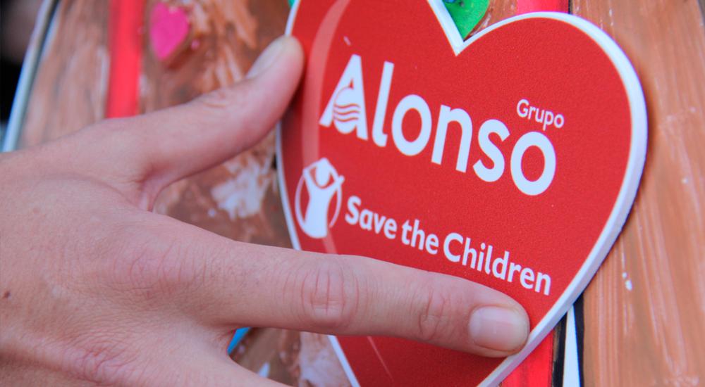 Campaña solidaria contra la pobreza infantil.