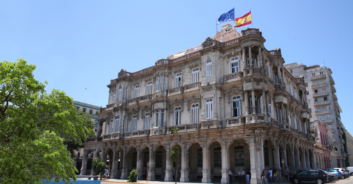The Spanish Embassy in Cuba will be remodeled.