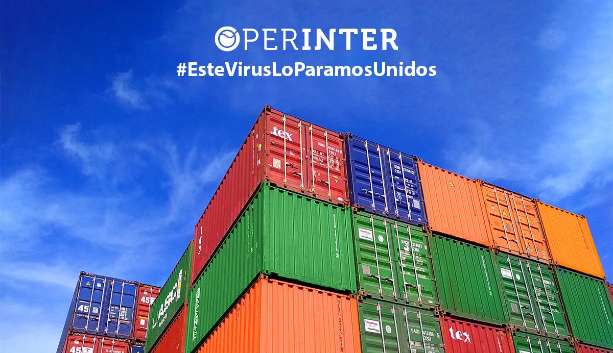 Operinter sigue desarrollando su actividad en un contexto de lucha contra la pandemia.