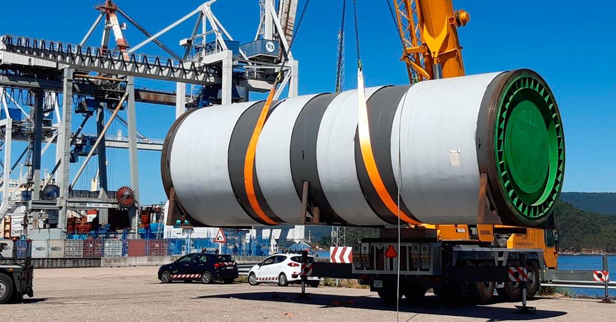 El transporte especial o project cargo requiere una operativa muy compleja.