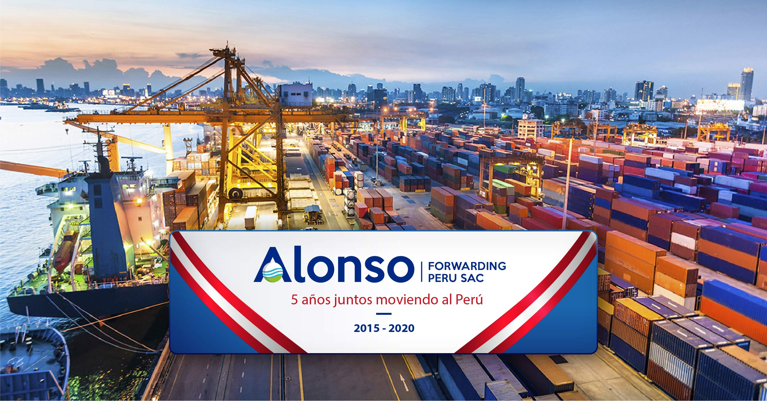 The Alonso Forwarding Perú's colleagues have celebrated their fifth anniversary.