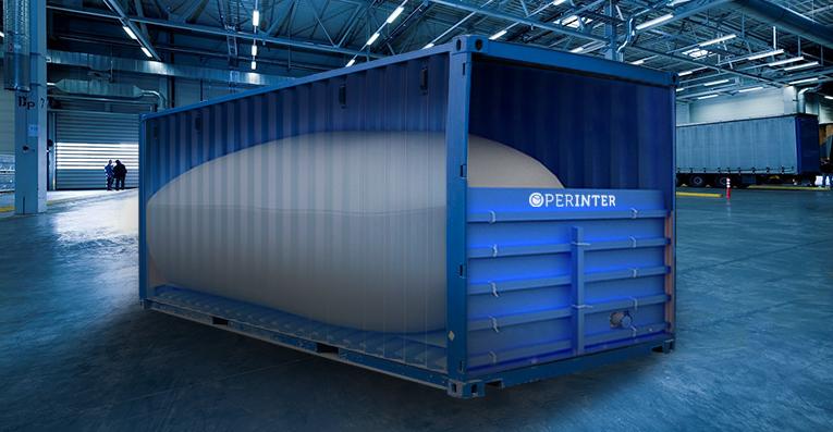 Flexitank, la solución más eficiente para el transporte de líquidos a granel